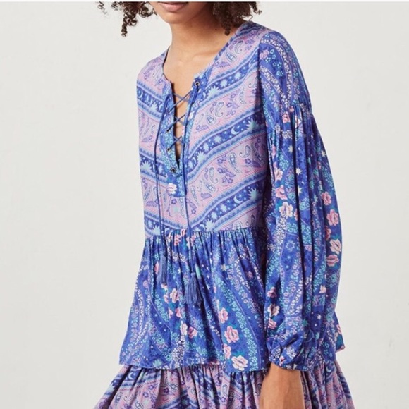 1f26099dd3d Spell & The Gypsy Collective Tops | Spell Designs City Lights Blouse ...